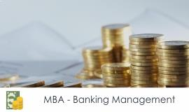 Distance MBA												- Banking Management