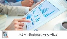 MBA												- Business Analytics