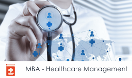 Distance MBA												- Healthcare Management
