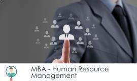 Distance MBA												- Human Resource Management