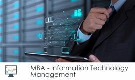 Distance MBA												- Information Technology Management