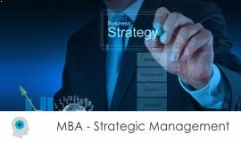 Distance MBA												- Strategic Management